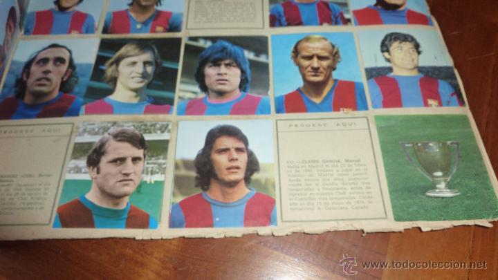 Coleccionismo deportivo: album cromos 75 años futbol club barcelona . barça incompleto 141 cromos de 271 . ver descripcion - Foto 3 - 54703022