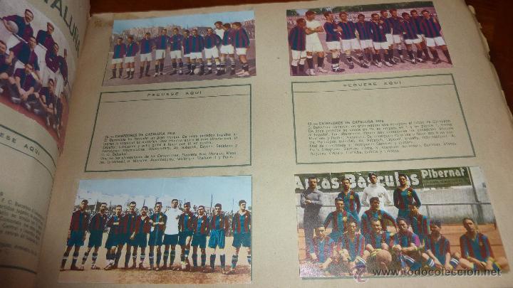 Coleccionismo deportivo: album cromos 75 años futbol club barcelona . barça incompleto 141 cromos de 271 . ver descripcion - Foto 4 - 54703022
