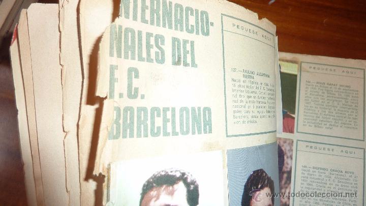 Coleccionismo deportivo: album cromos 75 años futbol club barcelona . barça incompleto 141 cromos de 271 . ver descripcion - Foto 9 - 54703022