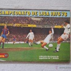 Coleccionismo deportivo: ALBUM ESTE 1975-76 CON MUCHOS FICHAJES . Lote 54705405