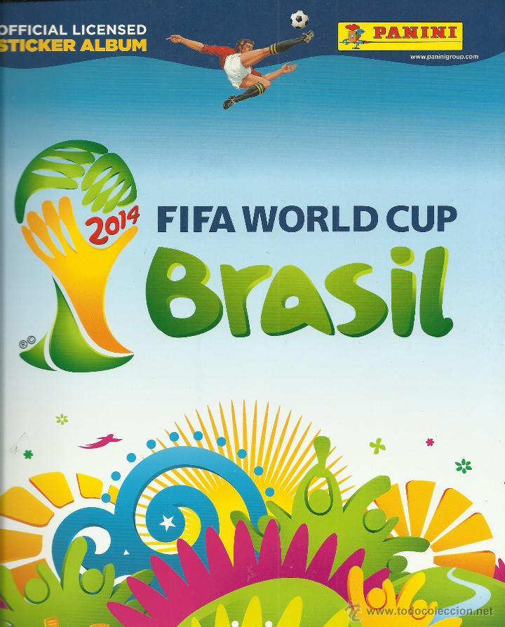 ALBUM DE MUNDIAL BRASIL 2014 VACIO (Coleccionismo Deportivo - Álbumes y Cromos de Deportes - Álbumes de Fútbol Incompletos)