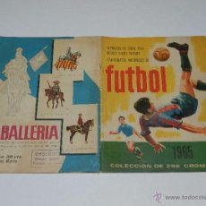 Coleccionismo deportivo: ALBUM FUTBOL 1965 , OLIMPIADA DE TOKIO 1964 HOCKEY SOBRE PATINES CAMPEONATOS NACIONALES DE FUTBOL. Lote 54829185