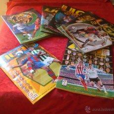 Coleccionismo deportivo: LOTE DE 7 ALBUMES DE FUTBOL EDICIONES ESTE EN MUY BUEN ESTADO. Lote 54956075