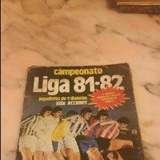 Coleccionismo deportivo: LIGA 81 82 EDITORIAL ESTE. Lote 55035968