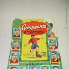 Coleccionismo deportivo: ALBUM DE CROMOS CAMPEONES LAS MAS FAMOSAS FIGURAS DEL FUTBOL ESPAÑOL AÑO 1953-54. Lote 55040676