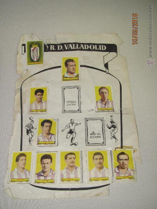 Coleccionismo deportivo: ALBUM DE CROMOS CAMPEONES LAS MAS FAMOSAS FIGURAS DEL FUTBOL ESPAÑOL AÑO 1953-54 - Foto 3 - 55040676