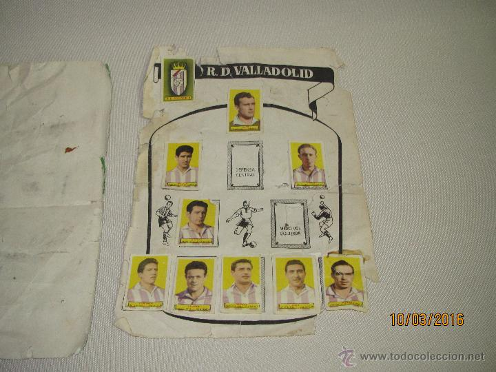 Coleccionismo deportivo: ALBUM DE CROMOS CAMPEONES LAS MAS FAMOSAS FIGURAS DEL FUTBOL ESPAÑOL AÑO 1953-54 - Foto 4 - 55040676
