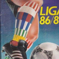 Coleccionismo deportivo: ALBUM INCOMPLETO FUTBOL LIGA 86/87 EDICIONES ESTE VER DESCRIPCION . Lote 55336049