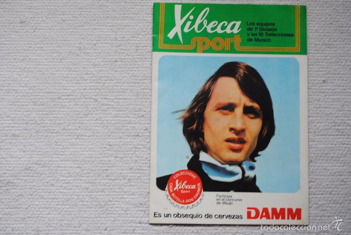 ALBUM XIBECA SPORT VACIO NUNCA HA TENIDO CROMOS (Coleccionismo Deportivo - Álbumes y Cromos de Deportes - Álbumes de Fútbol Incompletos)