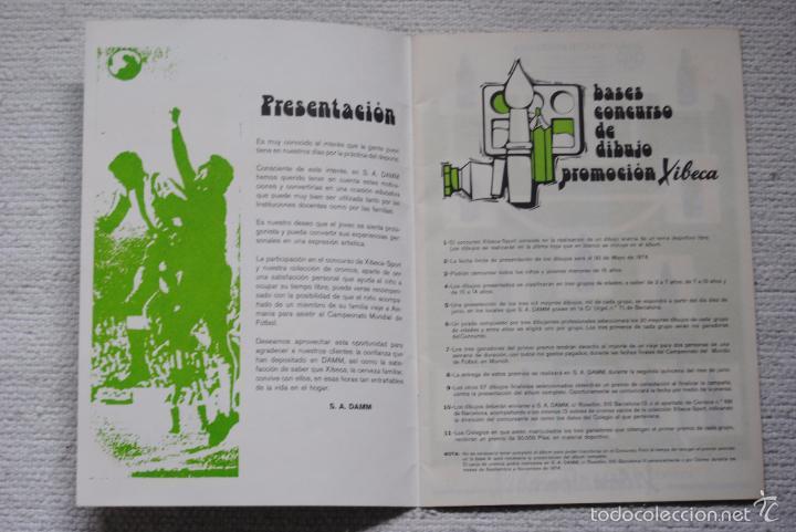 Coleccionismo deportivo: ALBUM XIBECA SPORT VACIO NUNCA HA TENIDO CROMOS - Foto 2 - 55394798