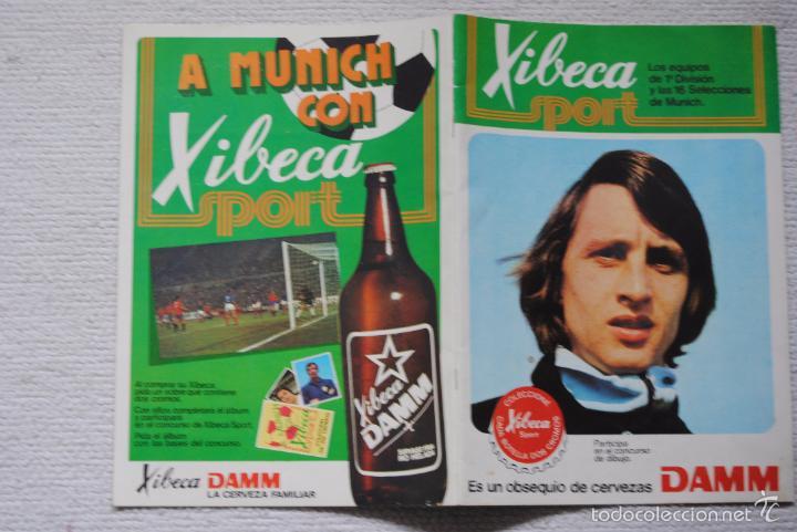 Coleccionismo deportivo: ALBUM XIBECA SPORT VACIO NUNCA HA TENIDO CROMOS - Foto 16 - 55394798