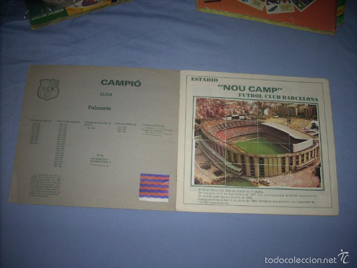 Coleccionismo deportivo: ALBUM DEL BARCA CAMPEON LIGA 84-85 , CASI COMPLETO Y CON MUCHOS DOBLES - Foto 2 - 55444451