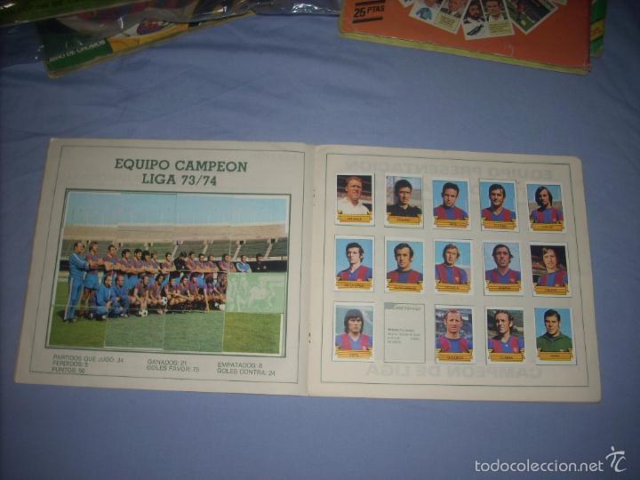 Coleccionismo deportivo: ALBUM DEL BARCA CAMPEON LIGA 84-85 , CASI COMPLETO Y CON MUCHOS DOBLES - Foto 3 - 55444451