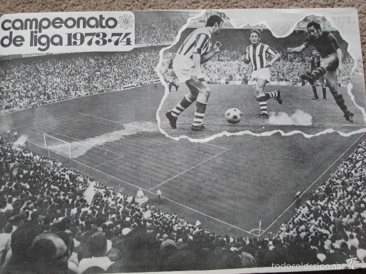 Coleccionismo deportivo: CAMPEONATO DE LIGA 1973-74- EDITORIAL FHER S.A. - Foto 2 - 55554993