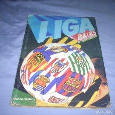 Coleccionismo deportivo: INCREIBLE ALBUM DE LA LIGA 1984-85 DE ESTE ,CON OREJUELA FICHAJE. Lote 55714516