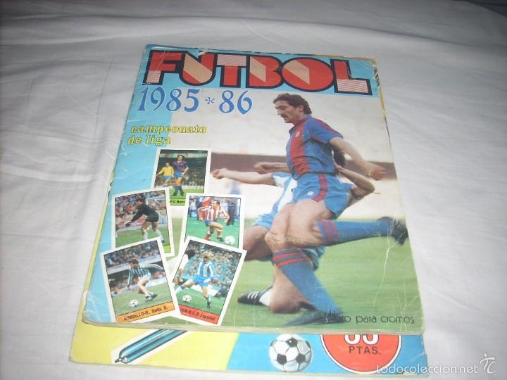 ALBUM DE LA LIGA 1985-86 DE LISEL COMPLETO DE CROMOS NORMALES (Coleccionismo Deportivo - Álbumes y Cromos de Deportes - Álbumes de Fútbol Incompletos)
