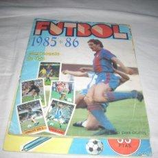 Coleccionismo deportivo: ALBUM DE LA LIGA 1985-86 DE LISEL COMPLETO DE CROMOS NORMALES. Lote 55952490