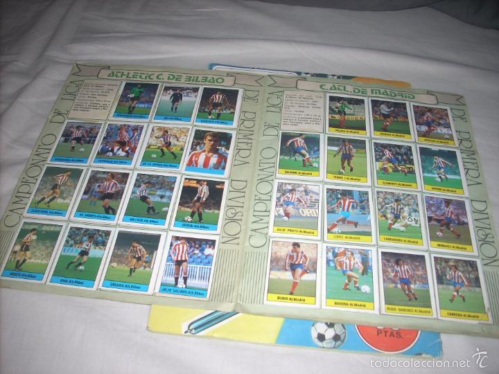 Coleccionismo deportivo: ALBUM DE LA LIGA 1985-86 DE LISEL COMPLETO DE CROMOS NORMALES - Foto 2 - 55952490