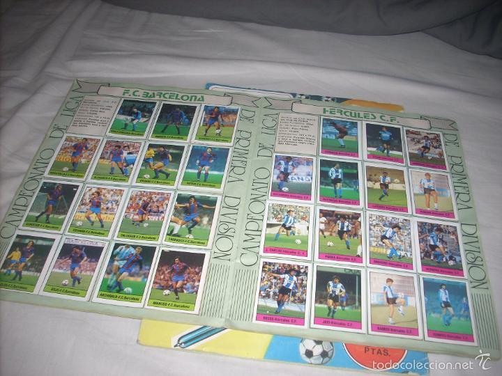 Coleccionismo deportivo: ALBUM DE LA LIGA 1985-86 DE LISEL COMPLETO DE CROMOS NORMALES - Foto 3 - 55952490