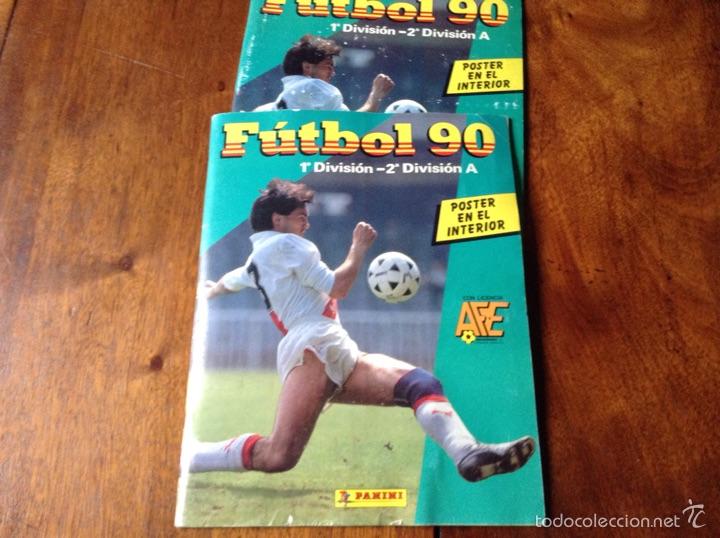 ÁLBUM LIGA FÚTBOL 89-90. J. CRUYFF ENTRENADOR. Y REGALO (Coleccionismo Deportivo - Álbumes y Cromos de Deportes - Álbumes de Fútbol Incompletos)