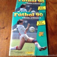 Coleccionismo deportivo: ÁLBUM LIGA FÚTBOL 89-90. J. CRUYFF ENTRENADOR. Y REGALO. Lote 56003729