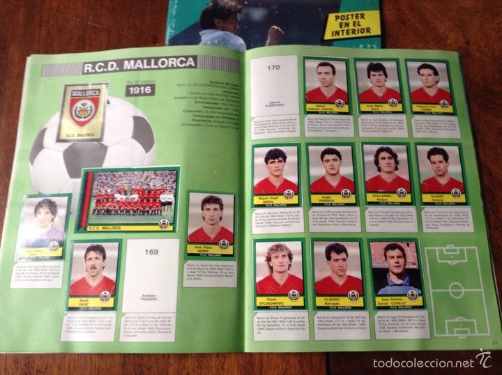 Coleccionismo deportivo: Álbum liga fútbol 89-90. J. Cruyff entrenador. Y regalo - Foto 2 - 56003729