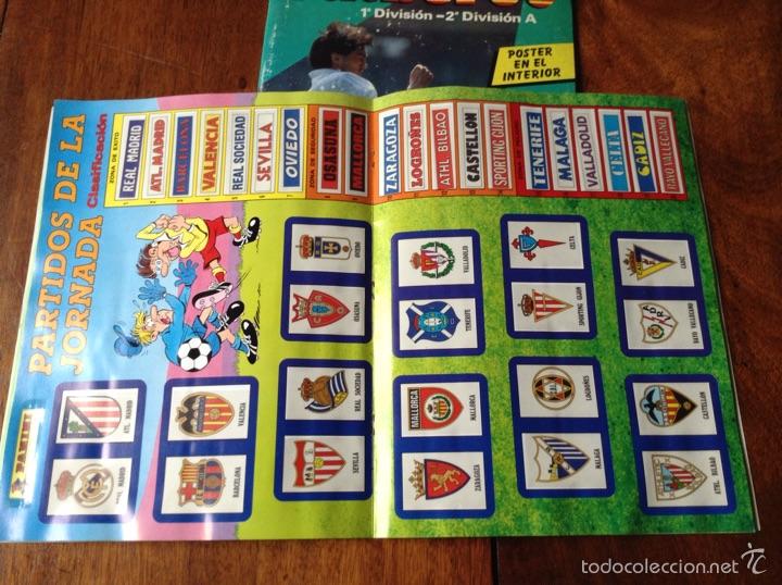 Coleccionismo deportivo: Álbum liga fútbol 89-90. J. Cruyff entrenador. Y regalo - Foto 3 - 56003729