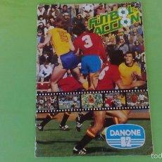 Coleccionismo deportivo: ALBUM FUTBOL EN ACCION SERIE TELEVISION DANONE 82 / POCOS CROMOS. Lote 56139236
