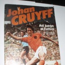 Coleccionismo deportivo: ALBUM JOHAN CRUYFF ASI JUEGO AL FUTBOL CON 16 CROMOS CROPAN. Lote 56155526