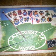Coleccionismo deportivo: ALBUM DEPORTIVO CROMOS FUTBOL LA COLONIAL 1954 1955 VACIO. Lote 56223884