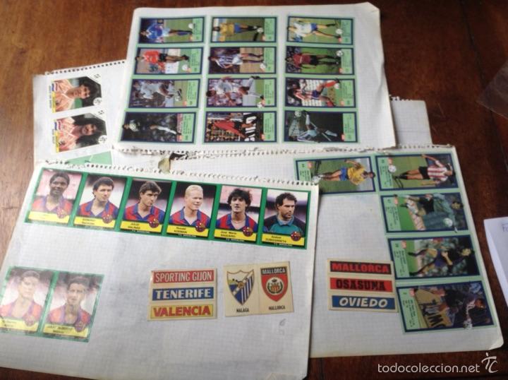 Coleccionismo deportivo: Álbum liga fútbol 89-90. J. Cruyff entrenador. Y regalo - Foto 7 - 56003729