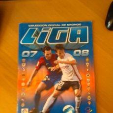Coleccionismo deportivo: ALBUM CROMOS LIGA FUTBOL 2007/2008. Lote 56255292