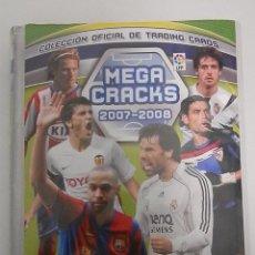 Coleccionismo deportivo: ALBUM INCOMPLETOS- MEGA CRACKS-2007-2008-PANINI SPORTS. Lote 56281761
