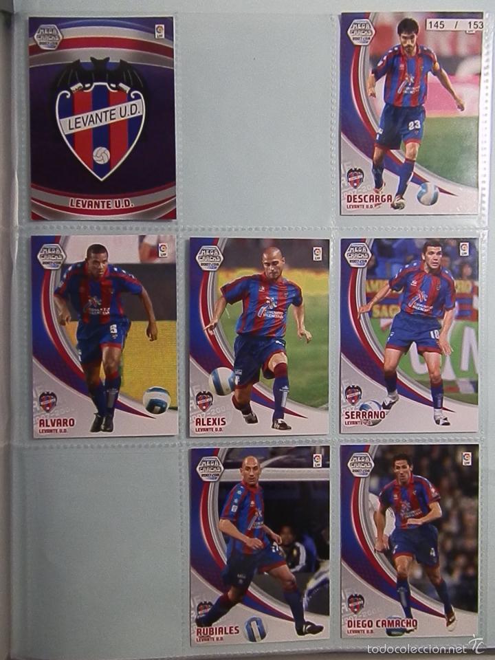 Coleccionismo deportivo: ALBUM INCOMPLETOS- MEGA CRACKS-2007-2008-PANINI SPORTS - Foto 18 - 56281761