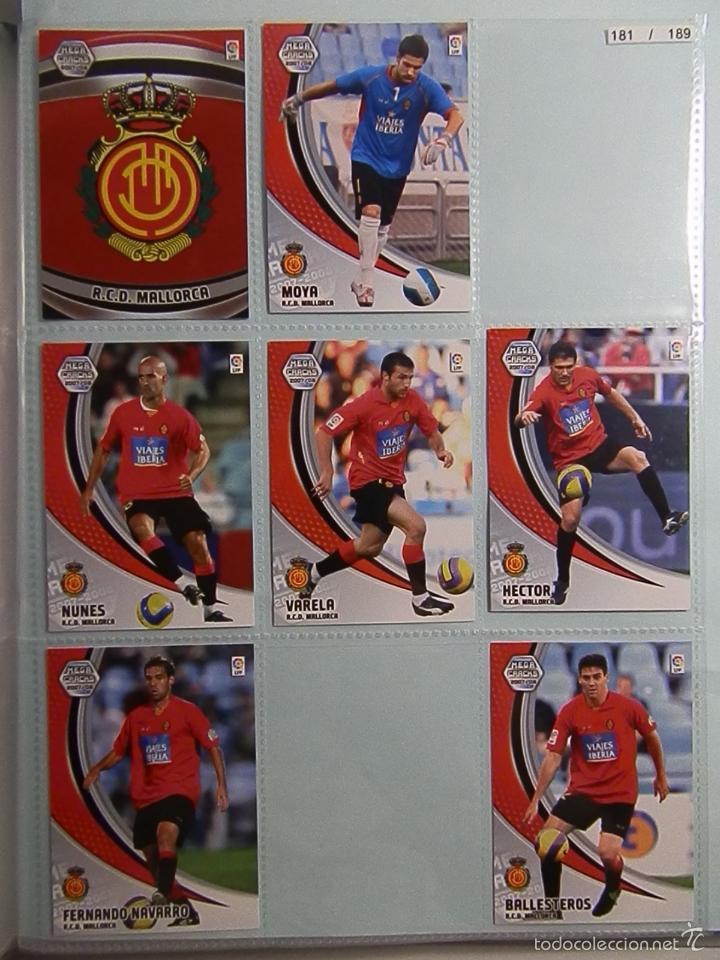 Coleccionismo deportivo: ALBUM INCOMPLETOS- MEGA CRACKS-2007-2008-PANINI SPORTS - Foto 22 - 56281761