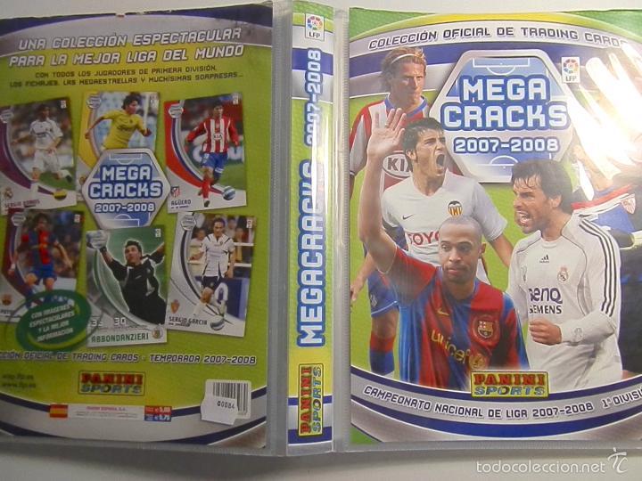 Coleccionismo deportivo: ALBUM INCOMPLETOS- MEGA CRACKS-2007-2008-PANINI SPORTS - Foto 52 - 56281761
