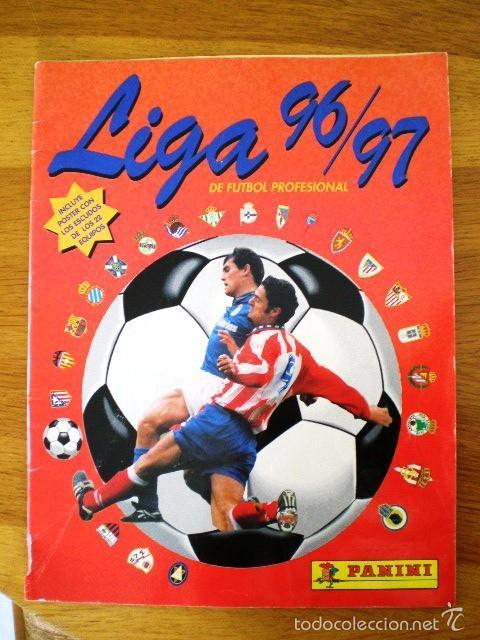 ÁLBUM LIGA FÚTBOL PROFESIONAL 96/97 (PANINI, 1996) * CON 47 CROMOS, INCLUYE PÓSTER (Coleccionismo Deportivo - Álbumes y Cromos de Deportes - Álbumes de Fútbol Incompletos)