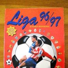 Coleccionismo deportivo: ÁLBUM LIGA FÚTBOL PROFESIONAL 96/97 (PANINI, 1996) * CON 47 CROMOS, INCLUYE PÓSTER. Lote 56299954