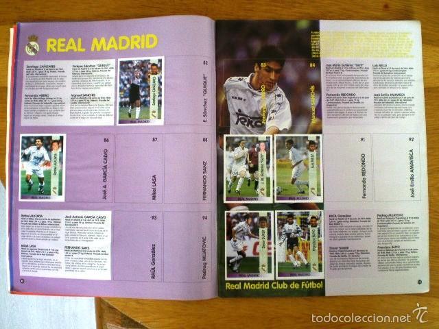 Coleccionismo deportivo: ÁLBUM LIGA Fútbol Profesional 96/97 (Panini, 1996) * Con 47 cromos, incluye póster - Foto 5 - 56299954