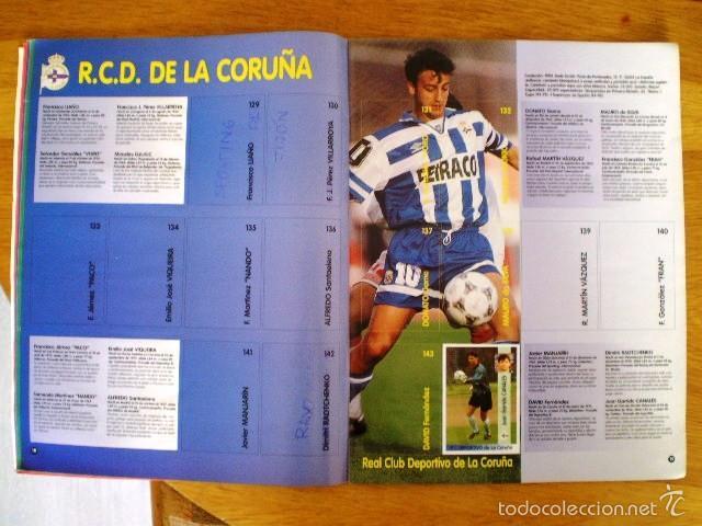 Coleccionismo deportivo: ÁLBUM LIGA Fútbol Profesional 96/97 (Panini, 1996) * Con 47 cromos, incluye póster - Foto 6 - 56299954