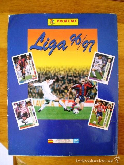 Coleccionismo deportivo: ÁLBUM LIGA Fútbol Profesional 96/97 (Panini, 1996) * Con 47 cromos, incluye póster - Foto 8 - 56299954