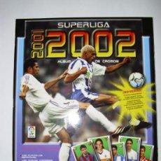 Coleccionismo deportivo: ALBUM SUPERLIGA 2001-2002 PANINI PLANCHA VACIO. Lote 56304924