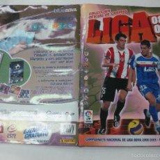 Coleccionismo deportivo: ALBUM CROMOS DE FUTBOL LIGA 2008-2009. COLECCIONES ESTE. VER DESCRPCION.. Lote 56553731