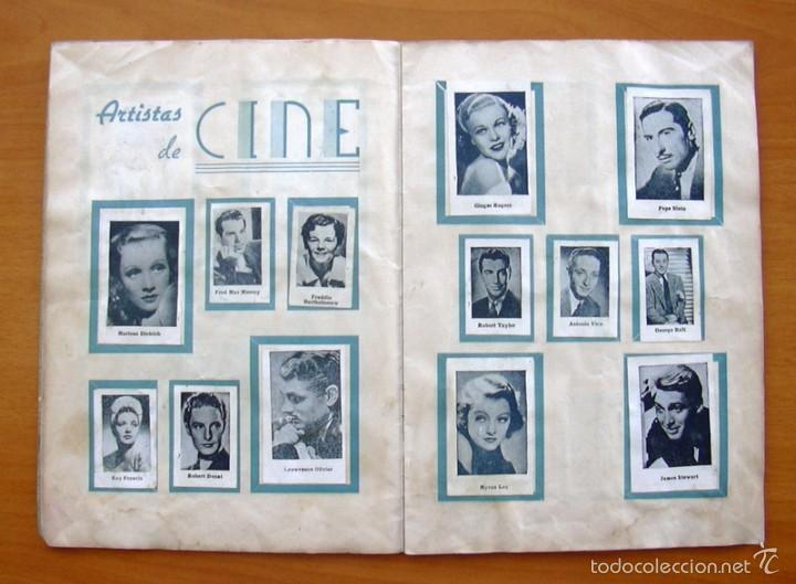 Coleccionismo deportivo: Album Cromos Fenómeno - Fútbol, Toros, Cine - año 1944 - Ver fotos y explicaciones interiores - Foto 6 - 56954712