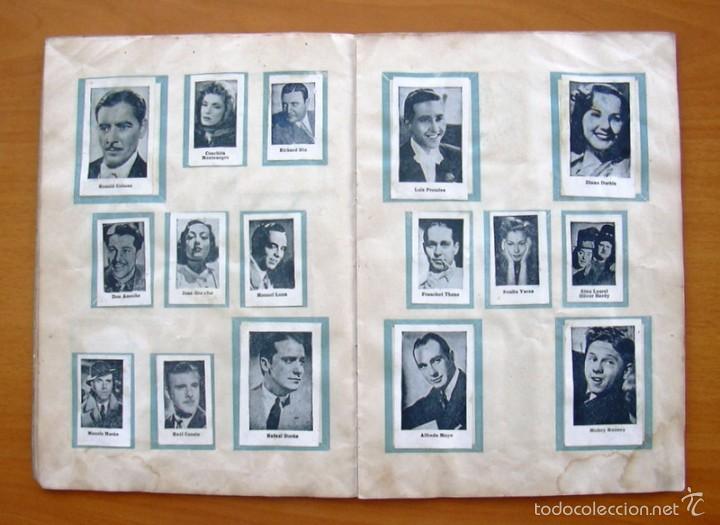 Coleccionismo deportivo: Album Cromos Fenómeno - Fútbol, Toros, Cine - año 1944 - Ver fotos y explicaciones interiores - Foto 7 - 56954712