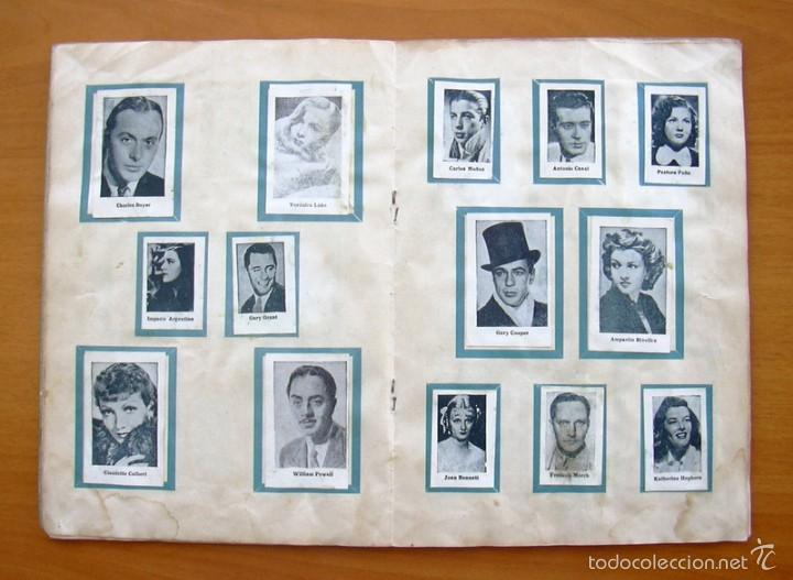 Coleccionismo deportivo: Album Cromos Fenómeno - Fútbol, Toros, Cine - año 1944 - Ver fotos y explicaciones interiores - Foto 8 - 56954712