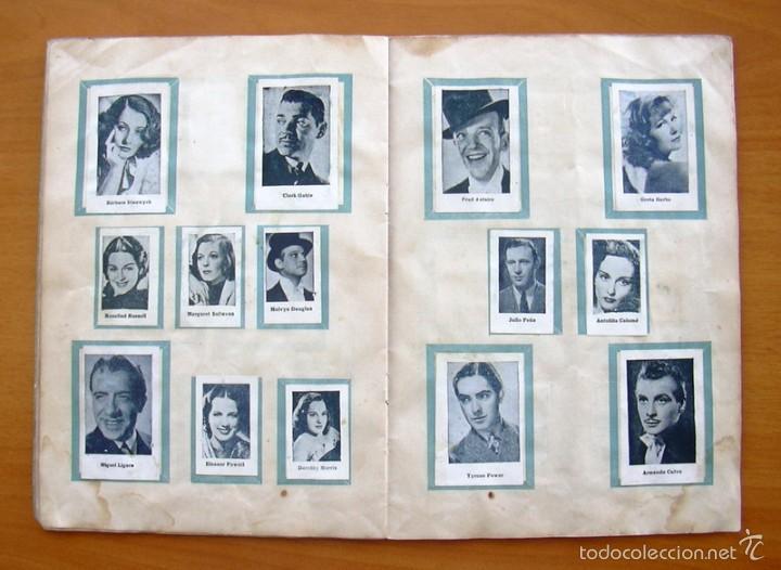Coleccionismo deportivo: Album Cromos Fenómeno - Fútbol, Toros, Cine - año 1944 - Ver fotos y explicaciones interiores - Foto 9 - 56954712
