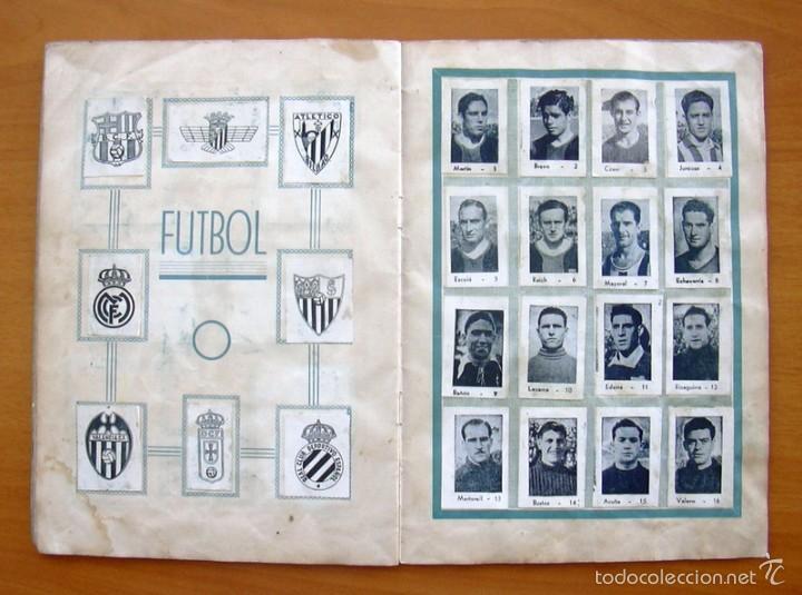 Coleccionismo deportivo: Album Cromos Fenómeno - Fútbol, Toros, Cine - año 1944 - Ver fotos y explicaciones interiores - Foto 10 - 56954712