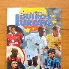 Coleccionismo deportivo: LOS MEJORES EQUIPOS DE EUROPA 1996-1997, 96-97 - EDITORIAL PANINI - INCOMPLETO. Lote 56960217