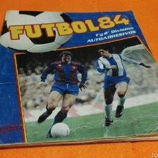 Coleccionismo deportivo: ALBUM FUTBOL 84 PANINI INCOMPLETO. Lote 56993098